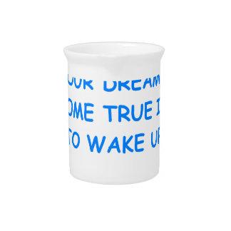 sueños jarras de beber