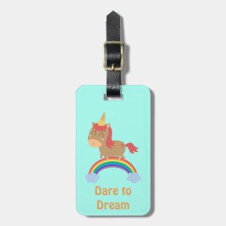 Sueños lindos del caballo a ser humor del etiquetas de maletas