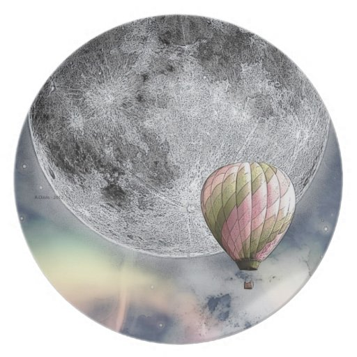 Sueños mágicos - volando libremente plato de comida