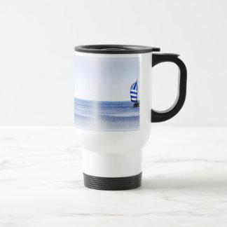Sueños náuticos taza de café