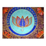 Sueños pacíficos de Lotus Tarjetas Postales