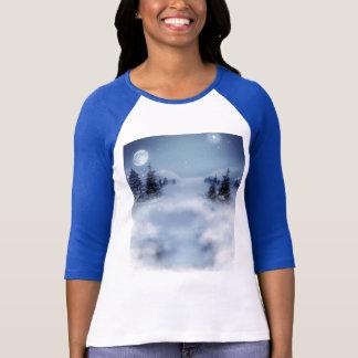 Sueños pacíficos del invierno camisetas