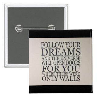 sueños pin cuadrado