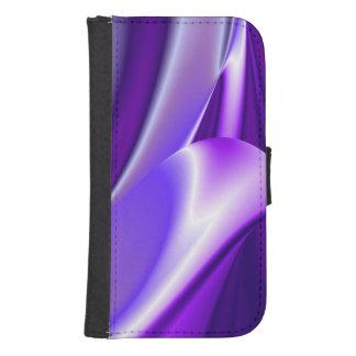 Sueños púrpuras, Arco iris-Arte abstracto de la Billetera Para Galaxy S4