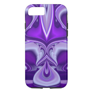 Sueños púrpuras de la flor funda iPhone 7