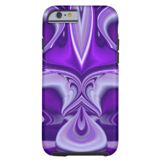 Sueños púrpuras de la flor funda resistente iPhone 6