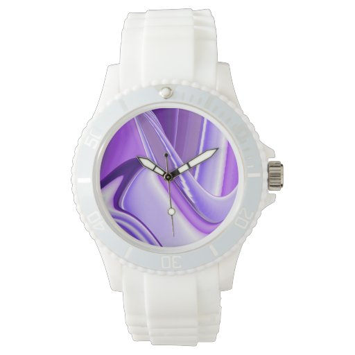 Sueños púrpuras reloj