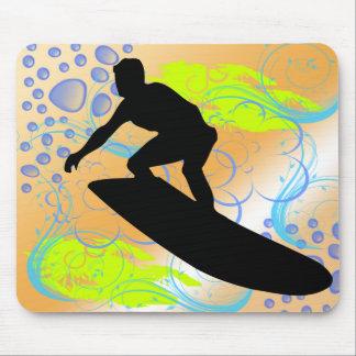 Sueños que practican surf alfombrilla de raton