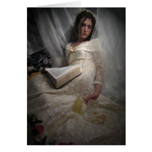 sueños sabios de la novia tarjeta pequeña
