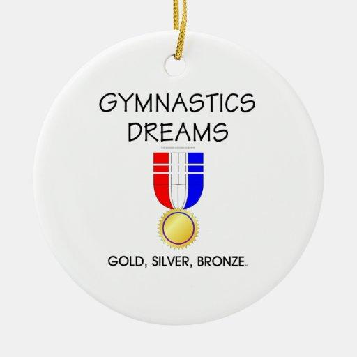 Sueños SUPERIORES de la gimnasia Ornamentos Para Reyes Magos