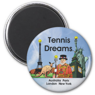 Sueños SUPERIORES del tenis Iman Para Frigorífico