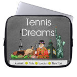 Sueños SUPERIORES del tenis Manga Portátil
