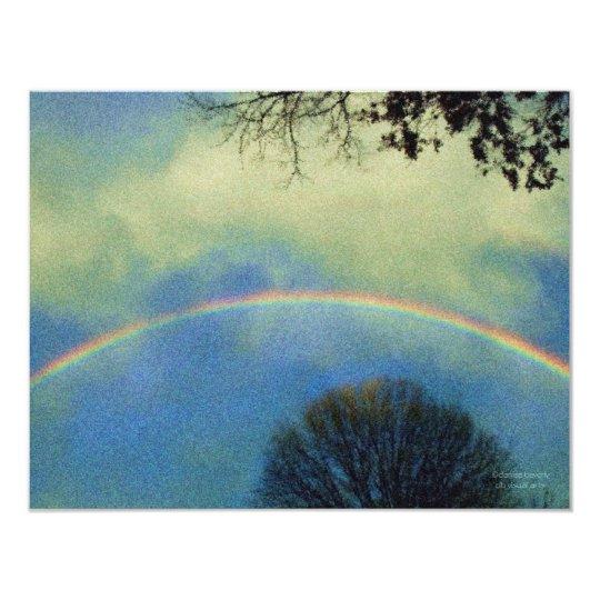 suerat style rainbow invitation