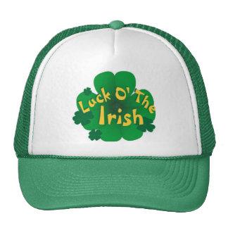 suerte-de--irlandés gorro