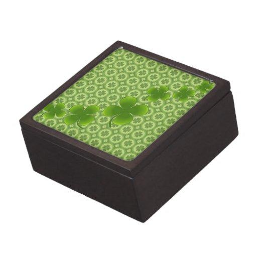 Suerte de la caja de regalo irlandesa cajas de joyas de calidad