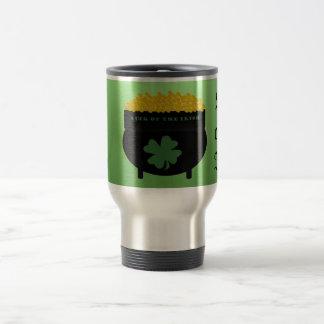 Suerte de la taza irlandesa del viaje
