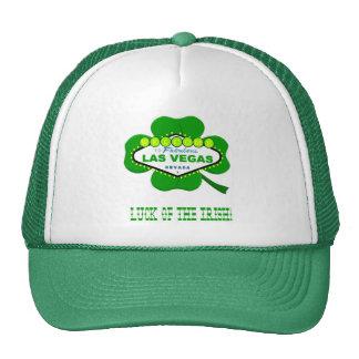 Suerte de Las Vegas del casquillo irlandés Gorras De Camionero