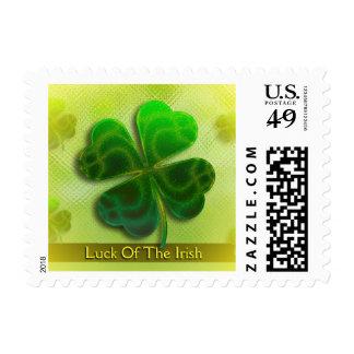 Suerte del día irlandés del St. Patricks del | Estampillas