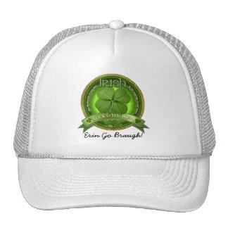 Suerte del irlandés - el día de St Patrick Gorras De Camionero