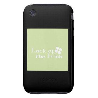 Suerte del irlandés tough iPhone 3 protector