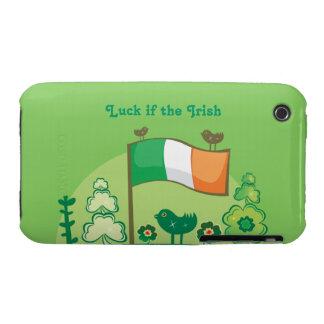 Suerte del irlandés Case-Mate iPhone 3 coberturas