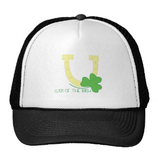Suerte del irlandés gorros