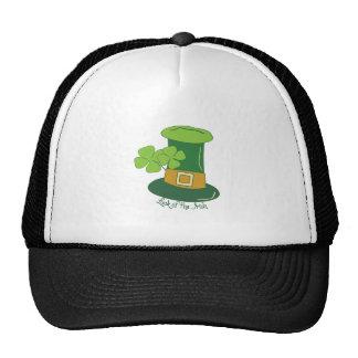 Suerte del irlandés gorra