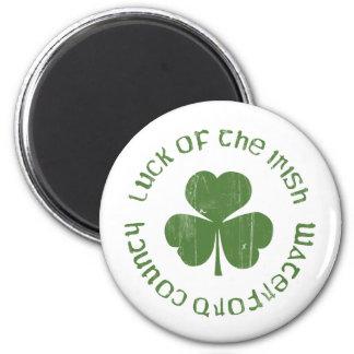 suerte del irlandés imán redondo 5 cm