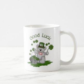 Suerte del irlandés - taza del diseñador