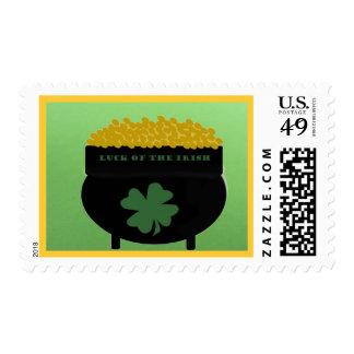 Suerte del sello irlandés
