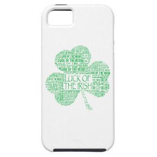 Suerte del trébol irlandés funda para iPhone SE/5/5s