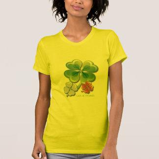 Suerte irlandesa. Camiseta del día de St Patrick