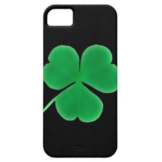 Suerte irlandesa del trébol del trébol del irlandé iPhone 5 carcasas