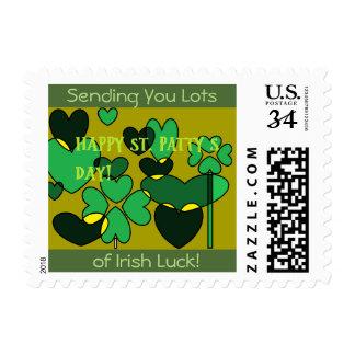 Suerte irlandesa sello
