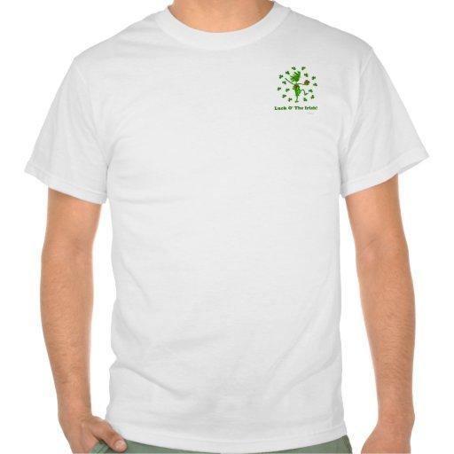 Suerte O el diseño caprichoso irlandés Camiseta