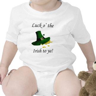 Suerte O el irlandés a Ya Traje De Bebé