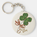 Suerte O el llavero del día del St Patrick irlandé