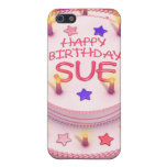 Sue's Birthday Cake Covers For iPhone 5