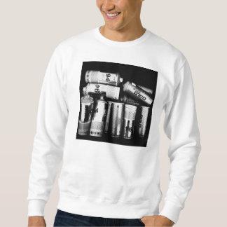 """Suéter blanco """"completamente cargado"""" de Crewneck"""