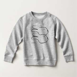 Suéter blanco del paño grueso y suave del niño del