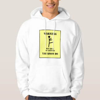 Suéter con capucha amonestador del Taekwondo de