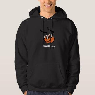 Suéter con capucha clásico de WyzAnt - negro