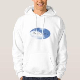Suéter con capucha del jersey - foto del cielo,