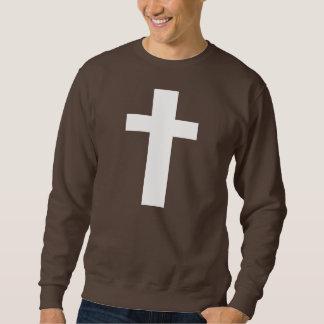 Suéter cruzado blanco
