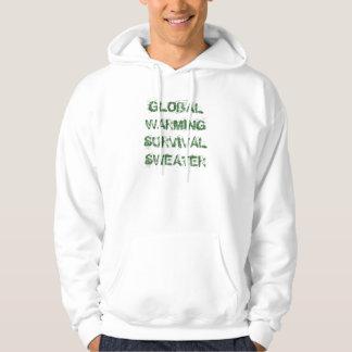 Suéter de la supervivencia del calentamiento del