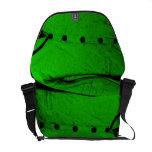suéter de los años 60 - verde agudo bolsa messenger