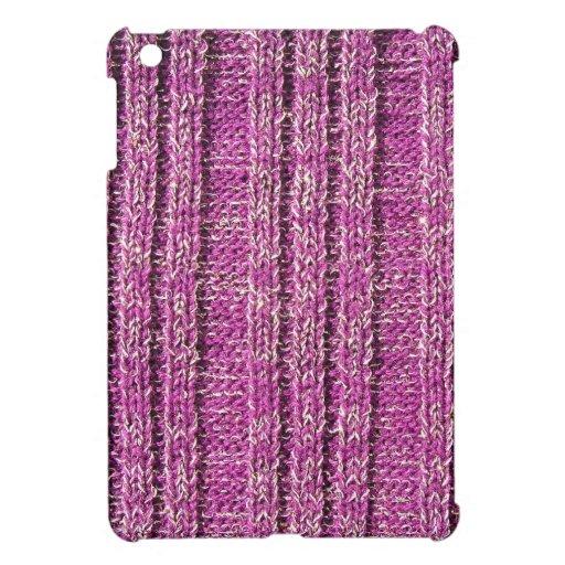 Suéter de punto rosado