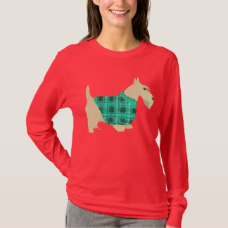 Suéter de trigo de Terrier del escocés