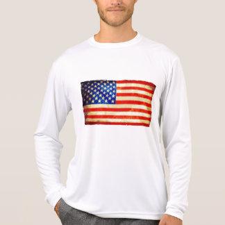 Suéter del deporte de la bandera americana - camisetas