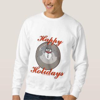 """Suéter del muñeco de nieve de Snowglobe """"buenas"""